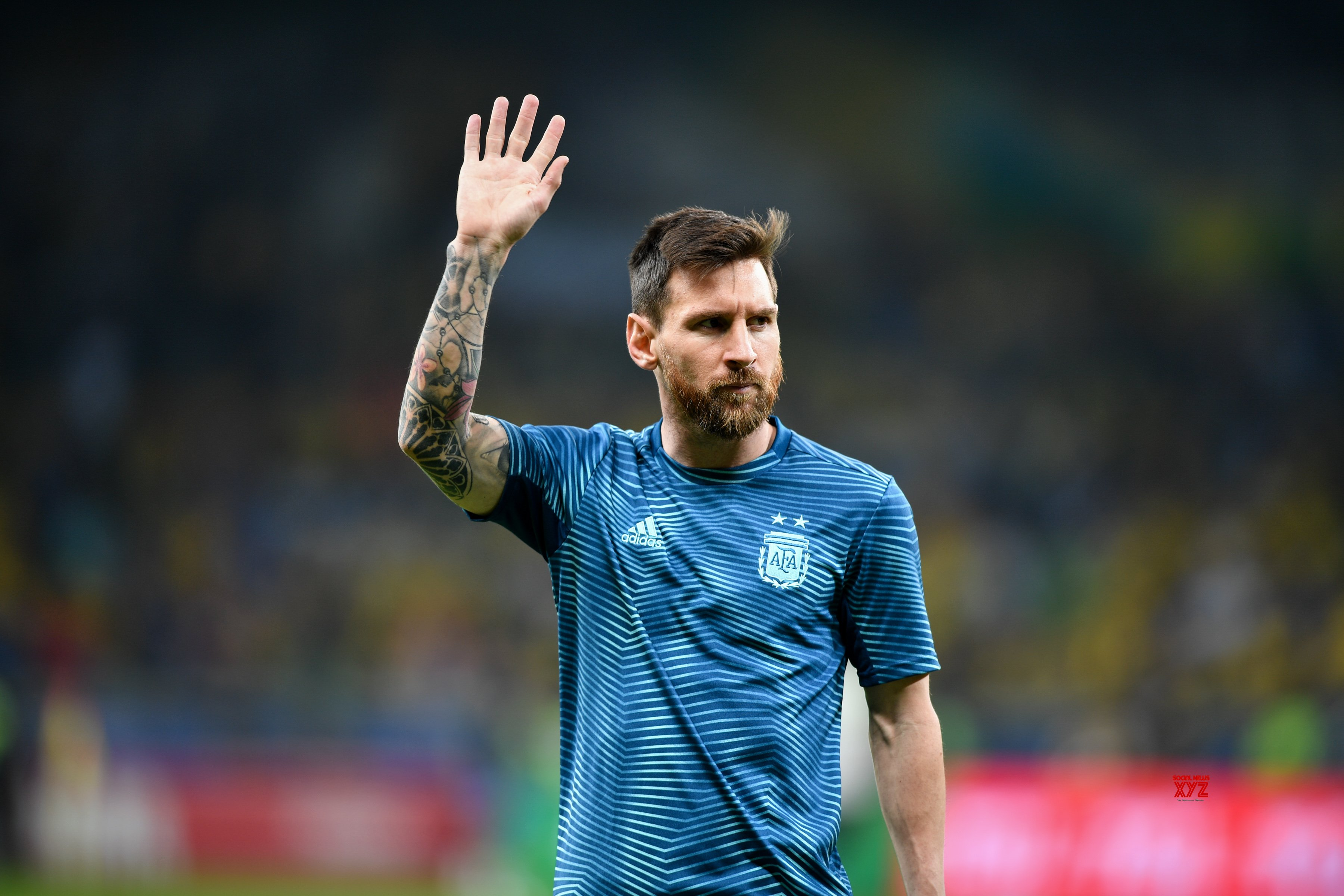 We'll see at what level we are once play restarts: Messi