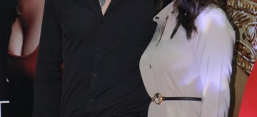 Goregaon: Actress Sunny Leone with her husband Daniel Weber at the launch of her new fashion brand in Goregaon, Maharashtra on July 8, 2019. (Photo: IANS)