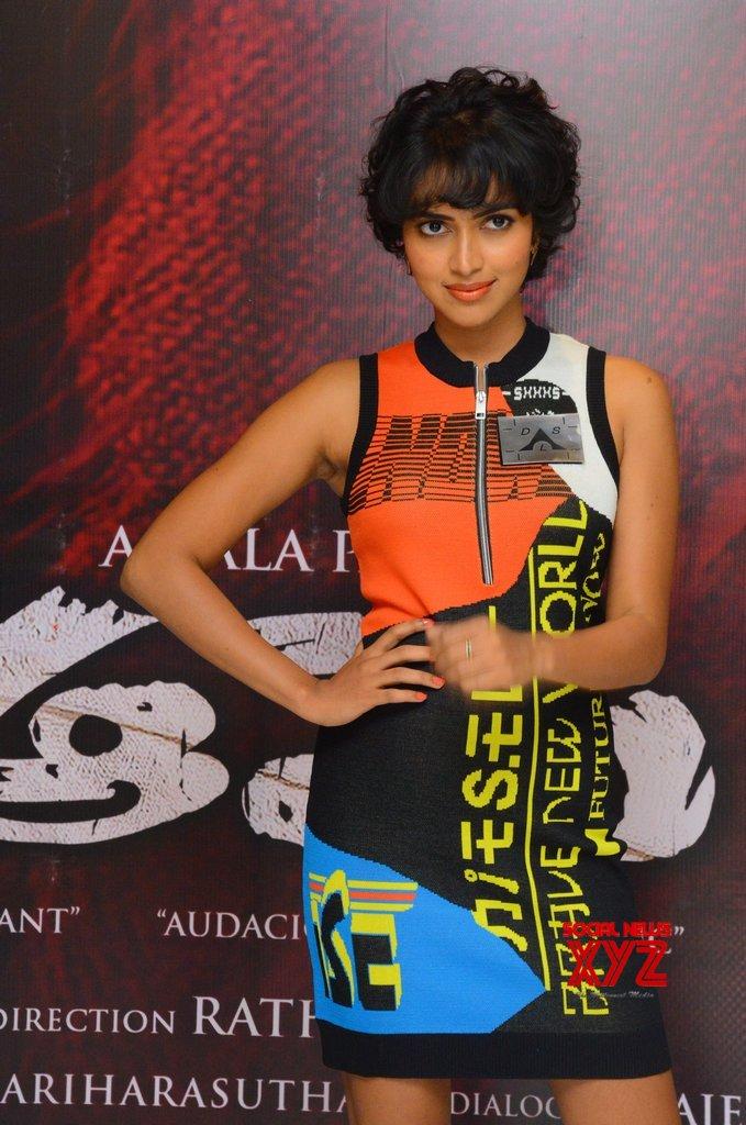 Actress Amala Paul Stills From Aame Movie Press Meet
