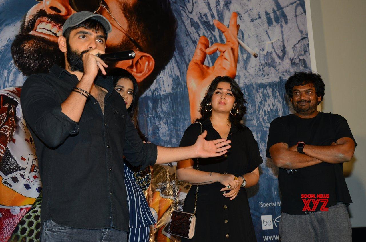 ISmart Shankar Movie Pre Release Press Meet Gallery Set 2