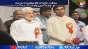 AP Bhavan Employees Honor YCP New MP's in AP Bhavan (Video)