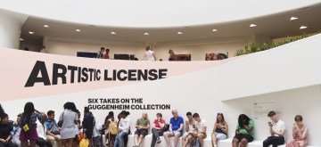 NEW YORK, July 13, 2019 (Xinhua) -- Visitors rest at the Guggenheim Museum in New York, the United States, July 12, 2019. The Solomon R. Guggenheim Museum in New York City, often referred to as The Guggenheim, has been added to UNESCO's World Heritage List.  The museum is among eight buildings in the United States that were inscribed on the list under the title of The 20th-Century Architecture of Frank Lloyd Wright. The announcement was made during the 43rd Session of the World Heritage Committee held in Baku, Azerbaijan from June 30 to July 10. (Xinhua/Han Fang/IANS)