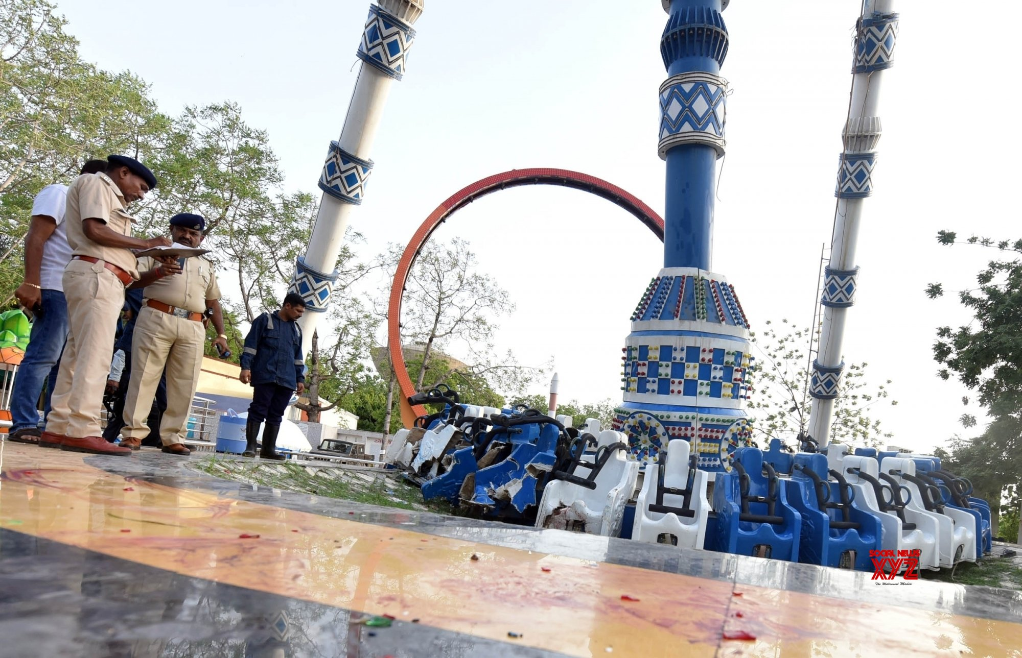 Ahmedabad: Three killed, 31 injured in amusement park accident in Ahmedabad #Gallery