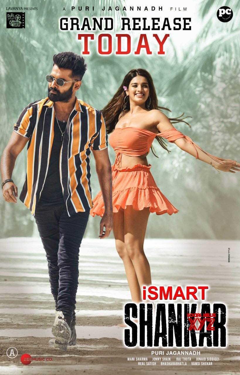 iSmart Shankar (2019) Telegu 720p WEB-DL x264 AAC 700MB Download