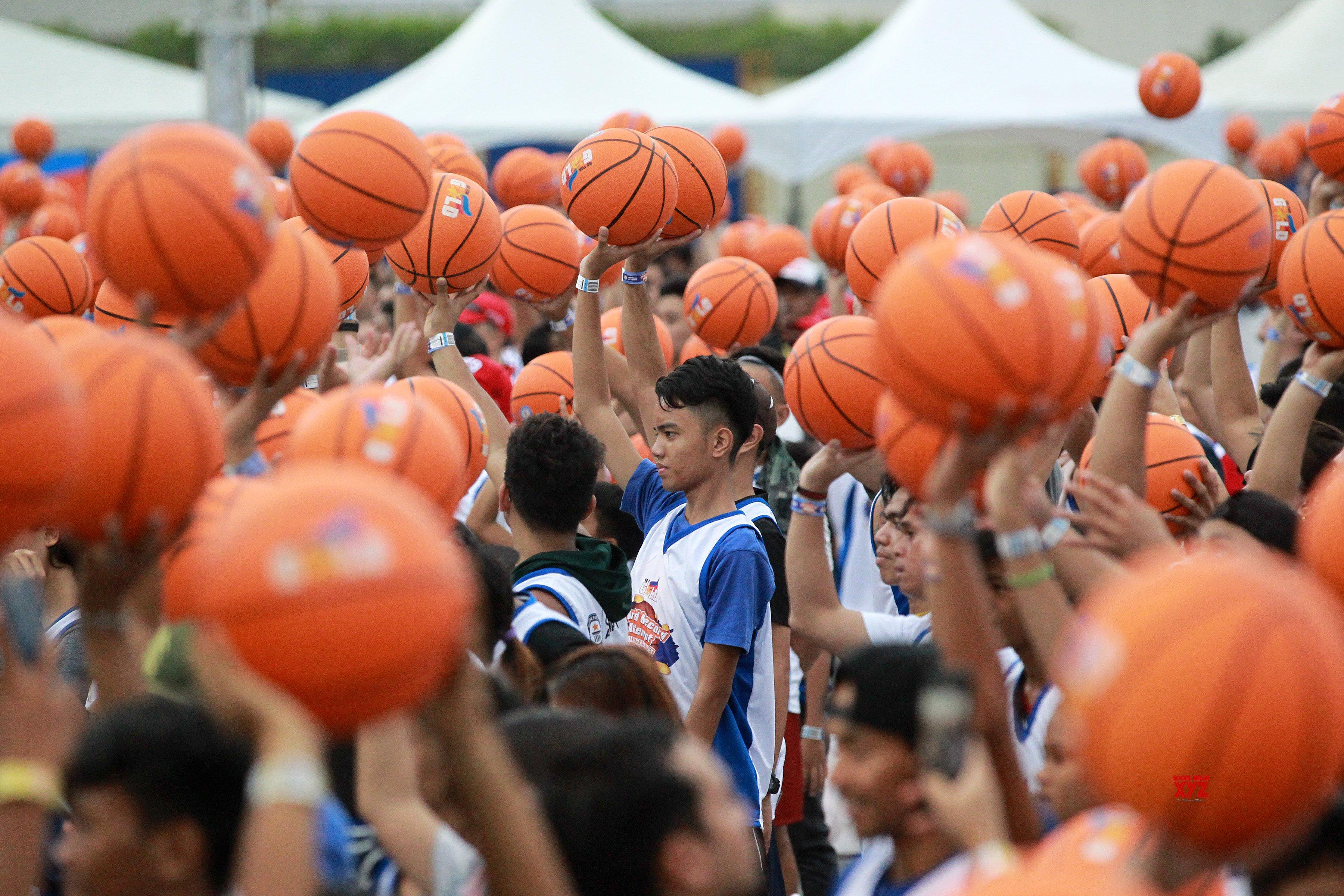 PHILIPPINES - PASAY CITY - BASKETBALL - WORLD RECORD
