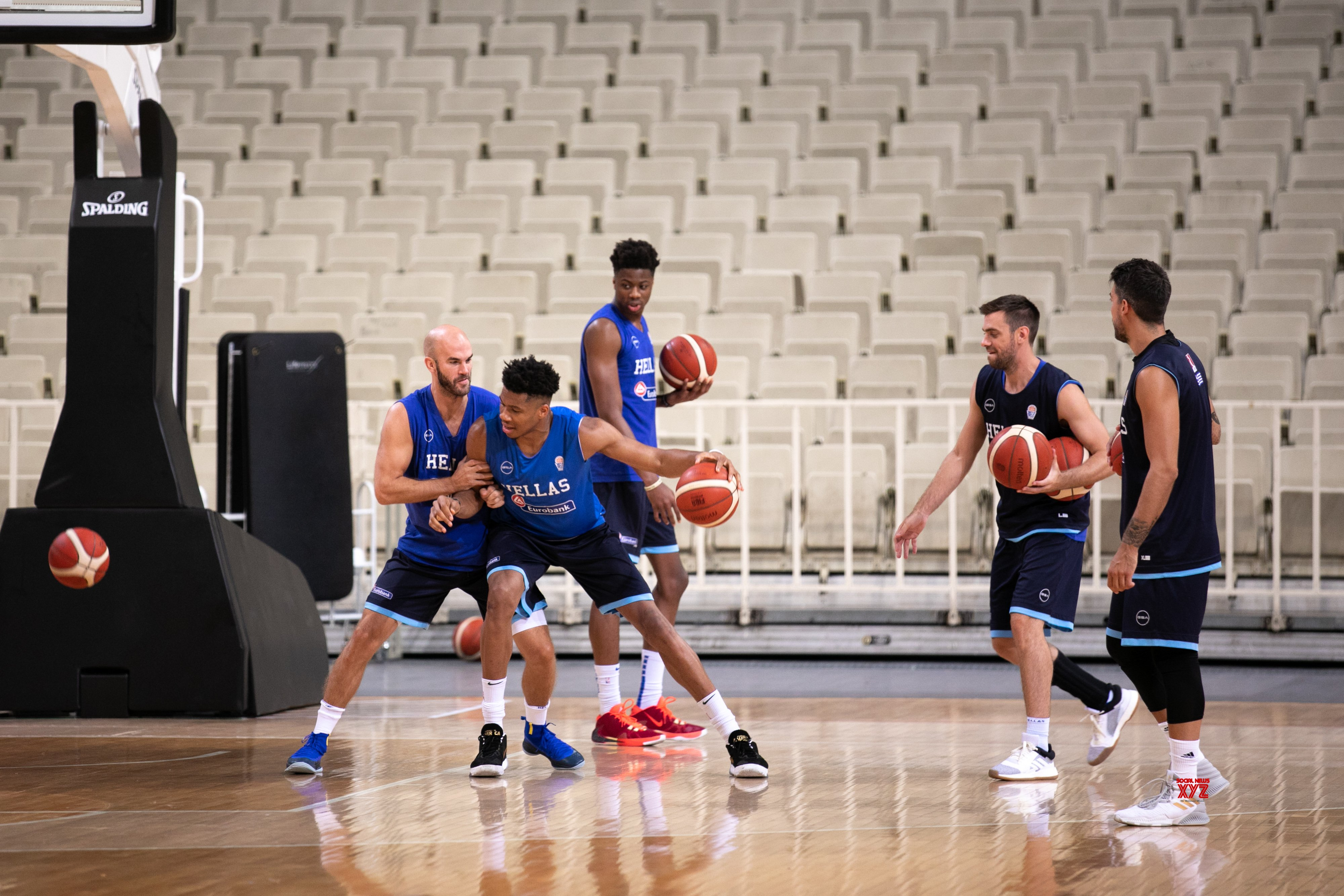 sports shoes 126f8 6a87d GREECE - ATHENS - GREEK NATIONAL BASKETBALL TEAM - TRAINING ...