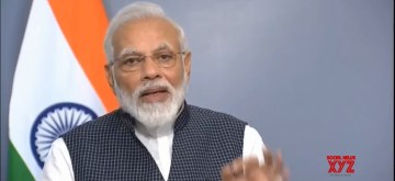 New Delhi: Prime Minister Narendra Modi addresses the nation after the government altered the special status of Jammu and Kashmir in New Delhi on Aug 8, 2019. (Photo: IANS)