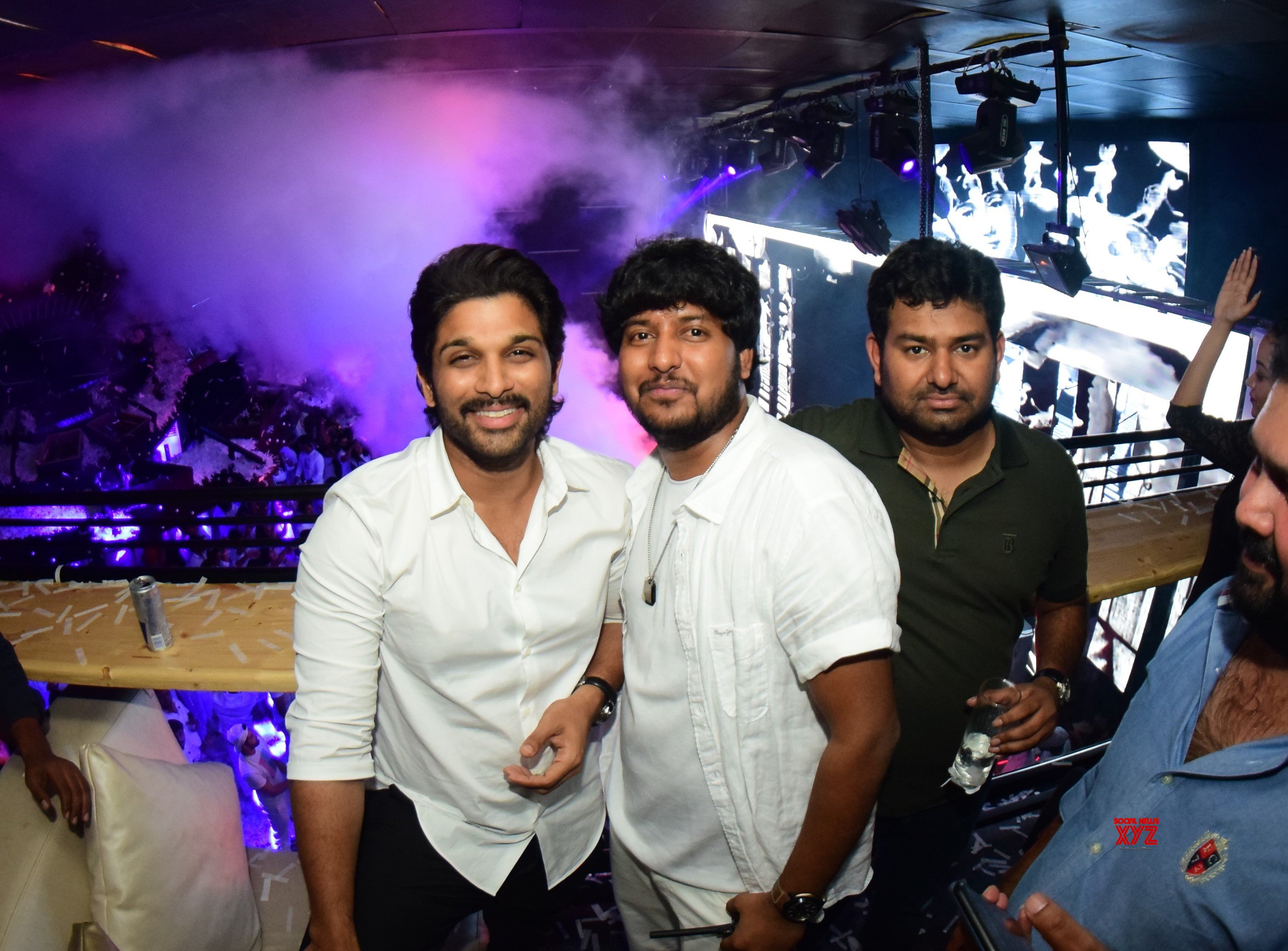 Allu Arjun At Fashion TV And Prism Club White Night Party - Gallery