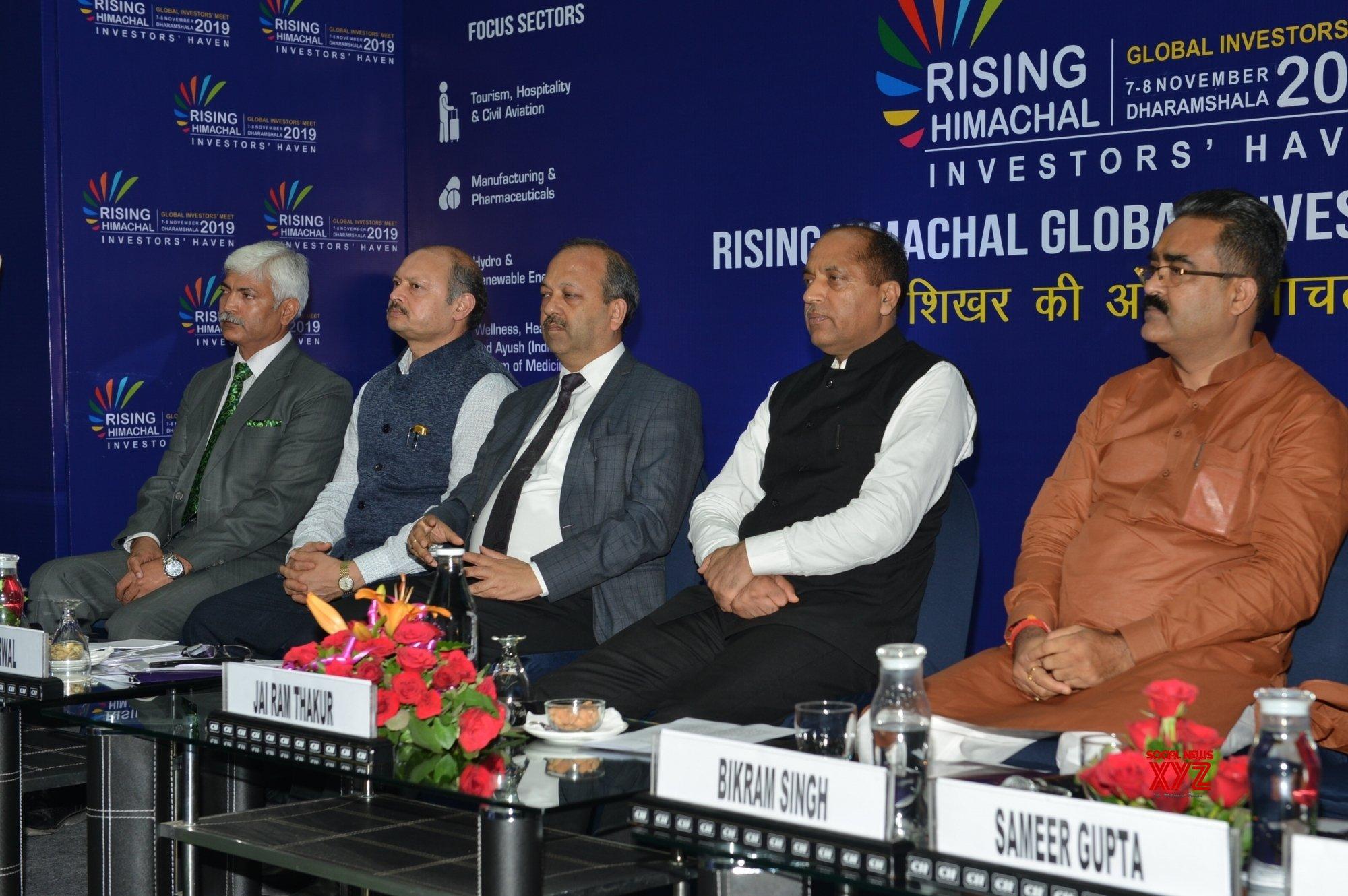 Chandigarh: Jai Ram Thakur at roadshwo for Rising Himachal Global Investor's Meet #Gallery