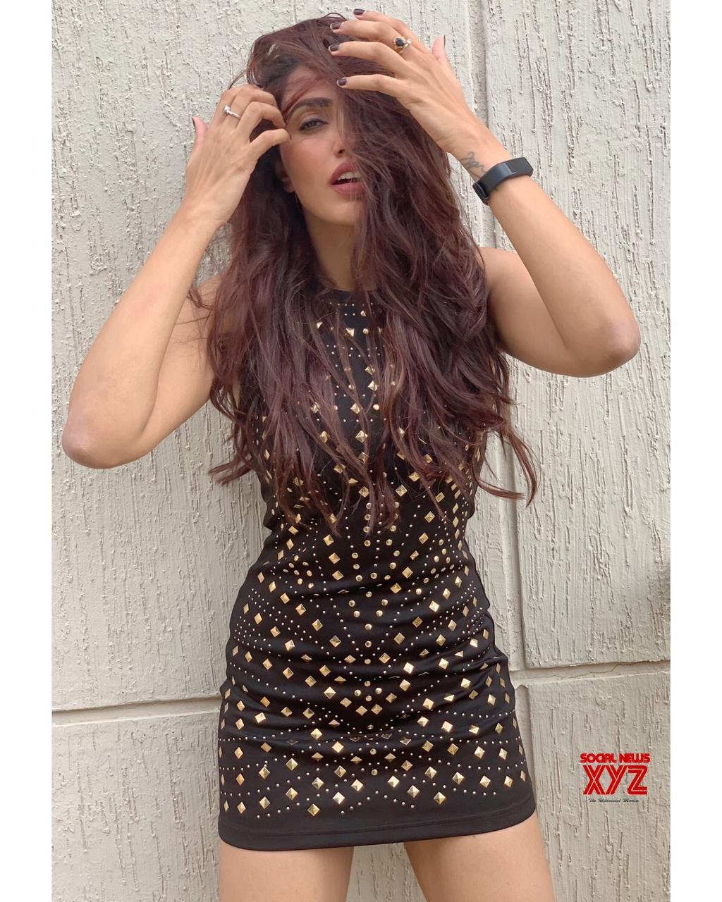 Actress Akshara Gowda Stylish New Stills