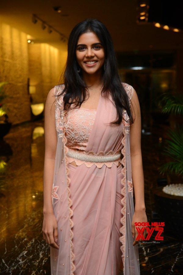 Actress Kalyani Priyadarshan Stills From Ranarangam Movie Pre Release Event