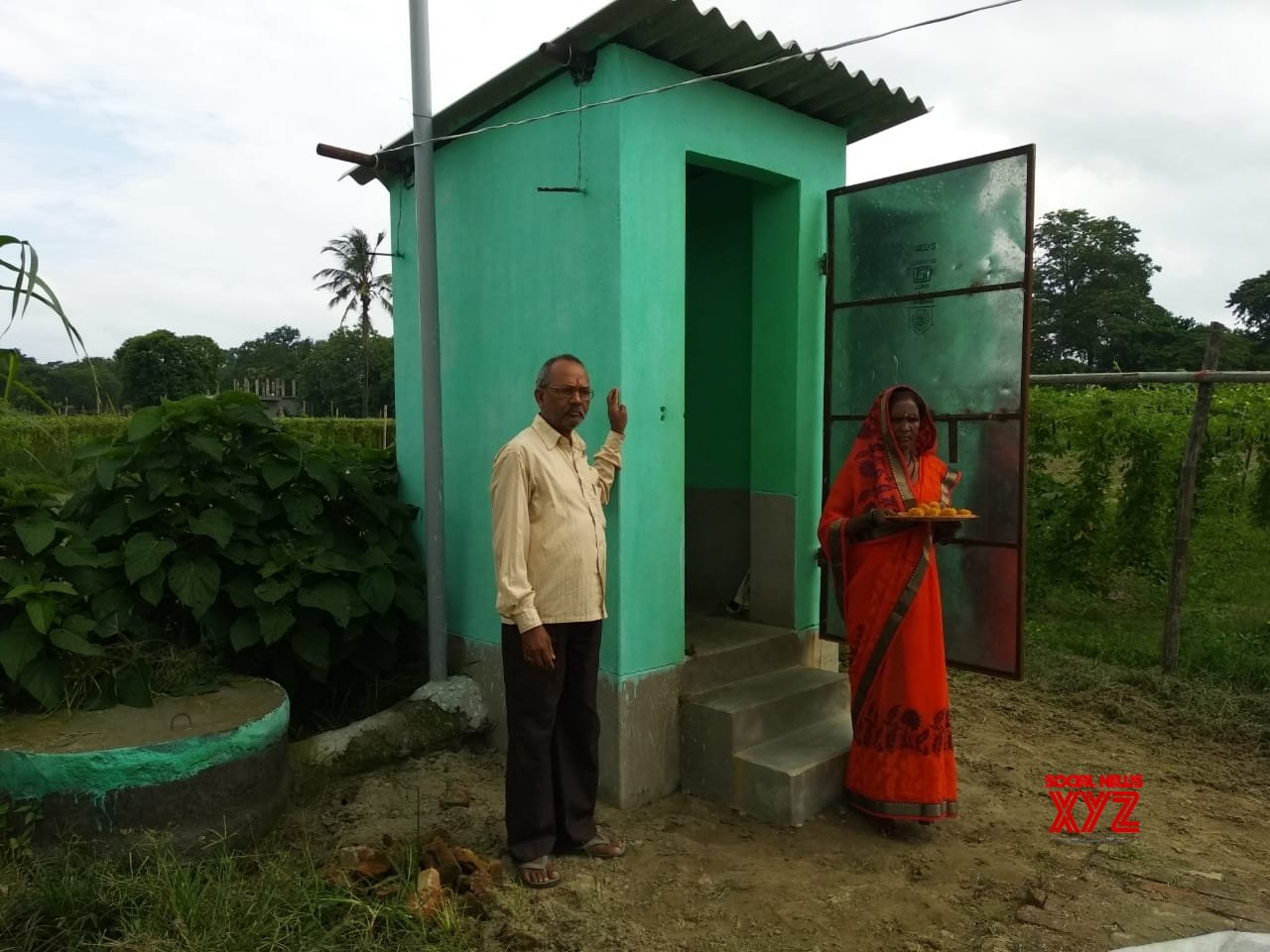 Bihar: Ftn Mind Gifts toilet so His Sister #Gallery