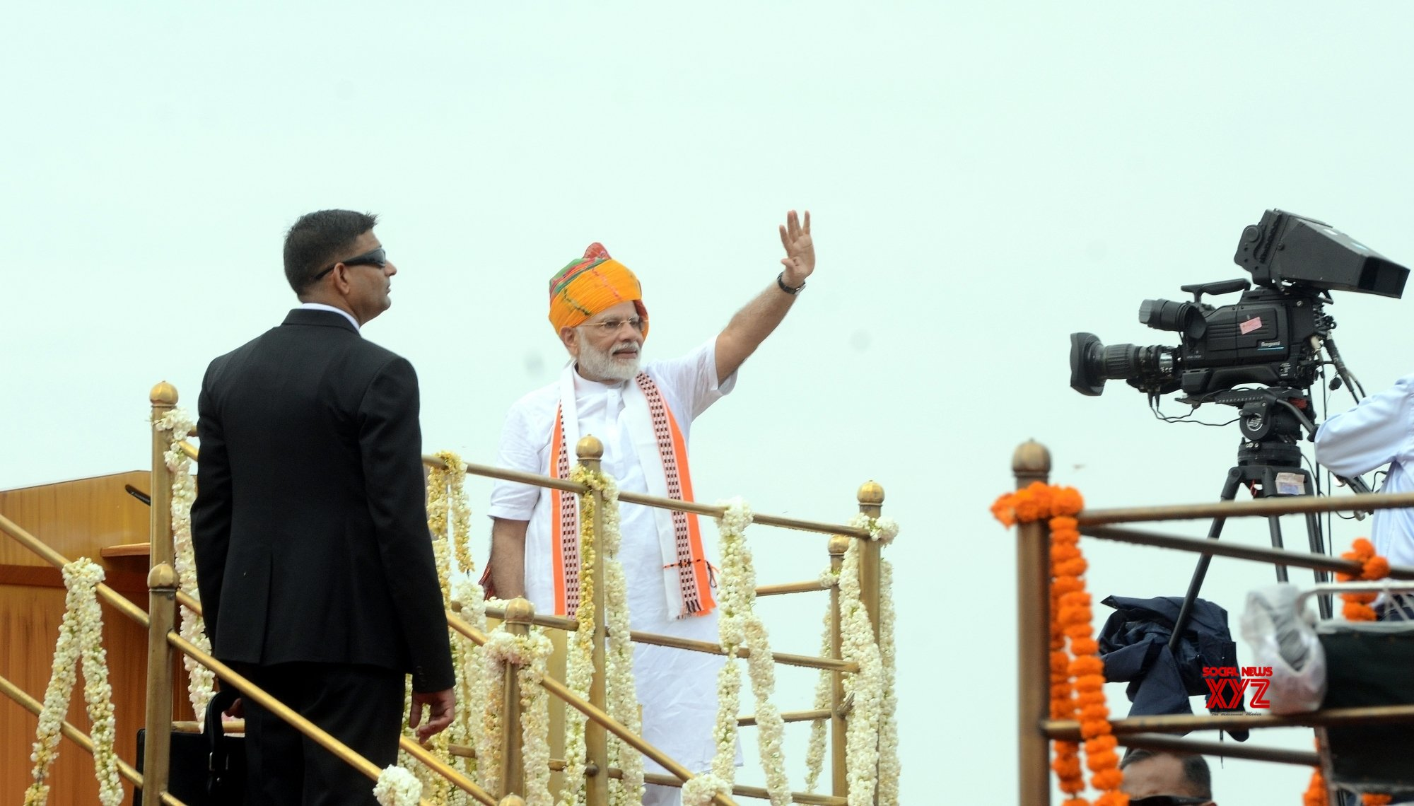 New Delhi: 73rd Independence Day - Prime Minister's address - (Batch - 3) #Gallery