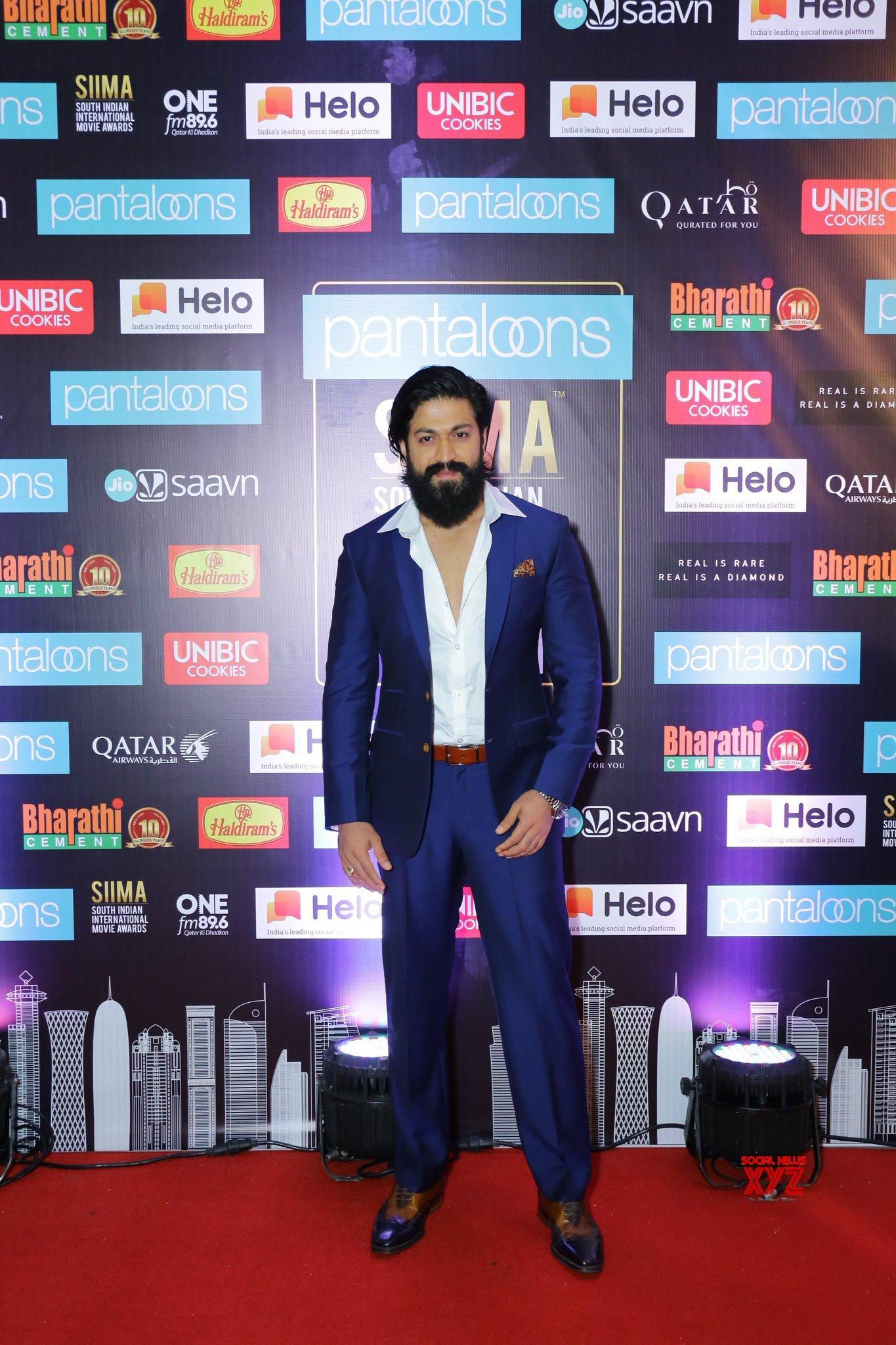Yash Still From SIIMA Awards 2019 Red Carpet