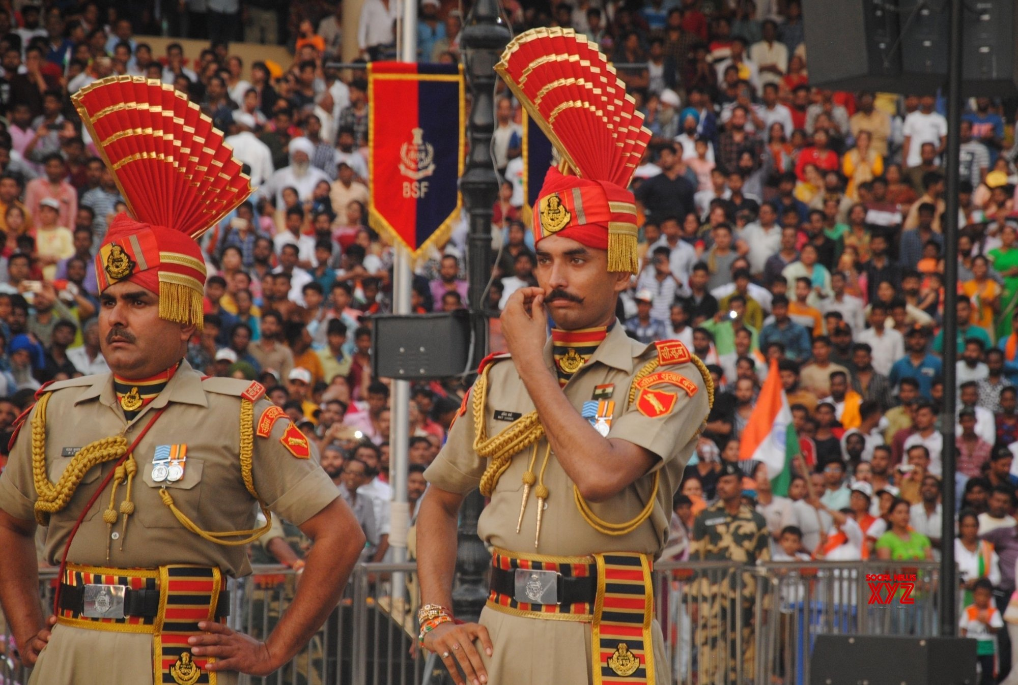 Attari: Beating Retreat ceremony #Gallery