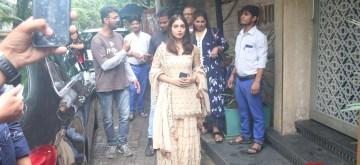 Mumbai: Actress Bhumi Pednekar seen in Mumbai on Aug 15, 2019. (Photo: IANS)