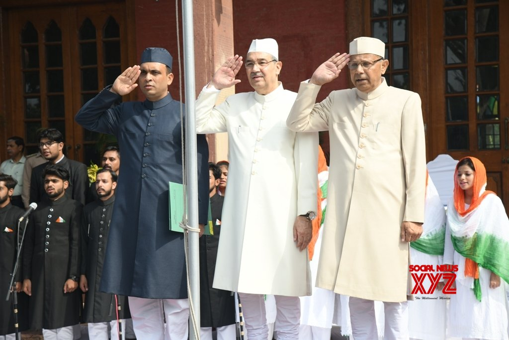 Aligarh: AMU celebrates Independence Day with fervour #Gallery