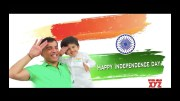 Happy Independence Day wishes from Aaransh and Dil Raju (Video)