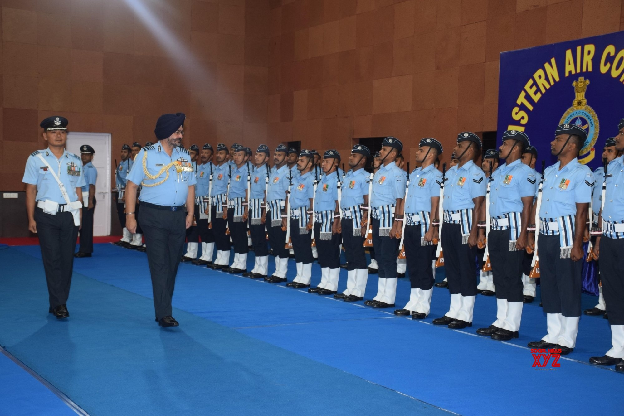 Shillong: Marshal B.S. Dhanoa visits Eastern Air Command #Gallery