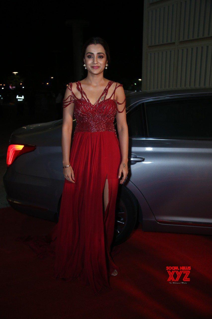 Actress Trisha Krishnan Stills From SIIMA Awards 2019