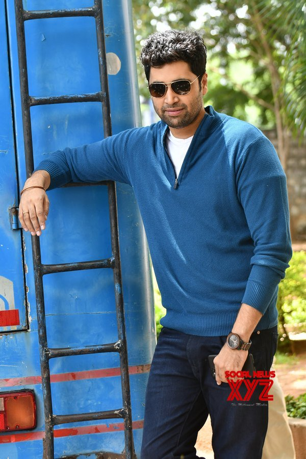 Adavi Sesh Stills From Evaru Movie Success Meet