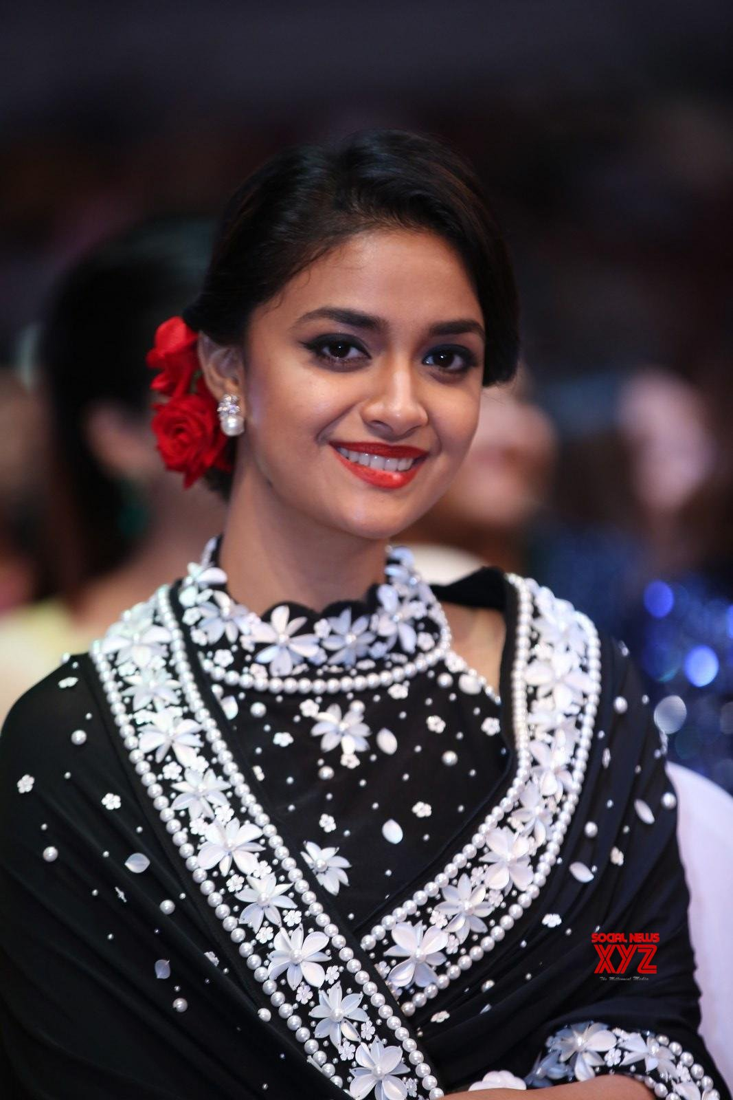Actress Keerthy Suresh Stills From SIIMA Awards 2019