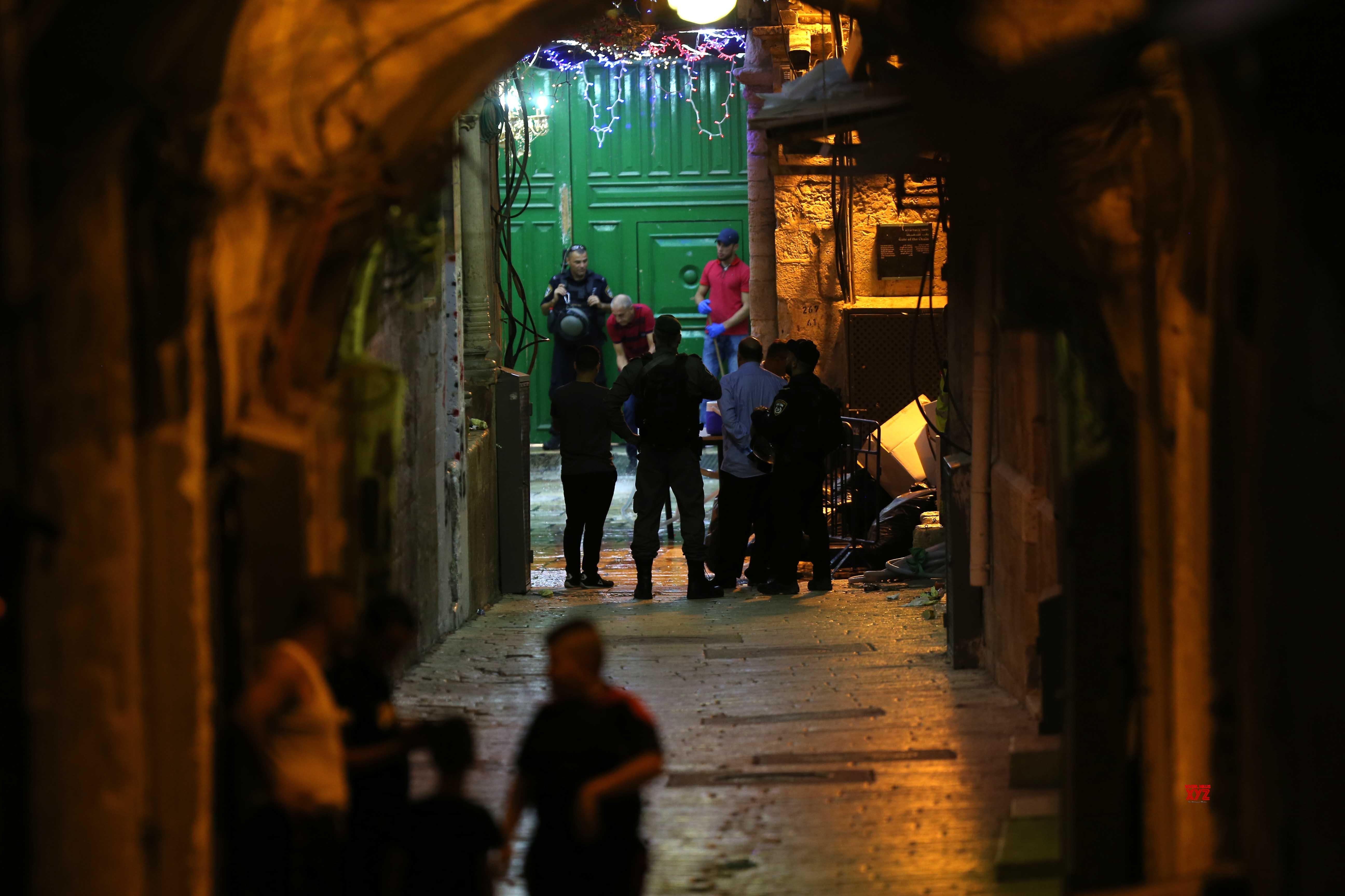 MIDEAST - JERUSALEM - OLD CITY - ATTACK #Gallery