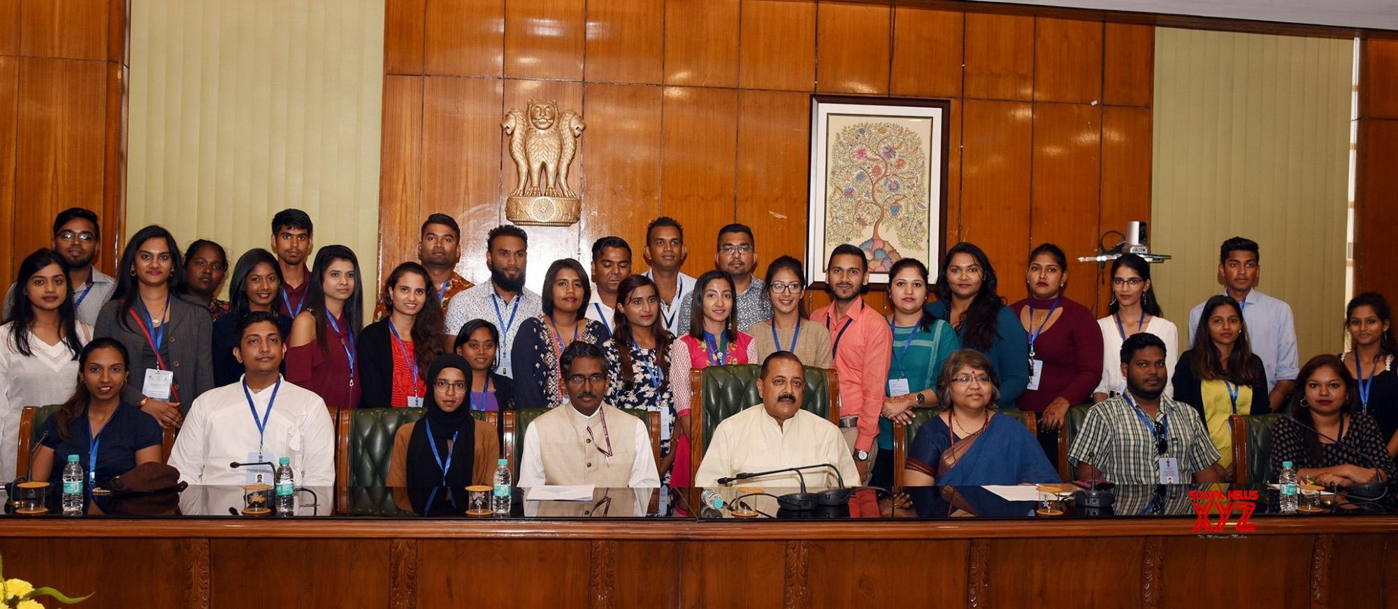 New Delhi: Indian Origin youth visiting India under KIP meet Jitendra Singh #Gallery