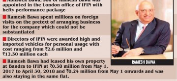 How IL&FS bosses plundered like there is no tomorrow. (IANS Infographics)