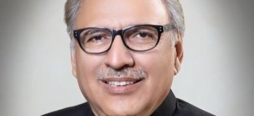 Arif Alvi . (Photo: Twitter/@ArifAlvi)