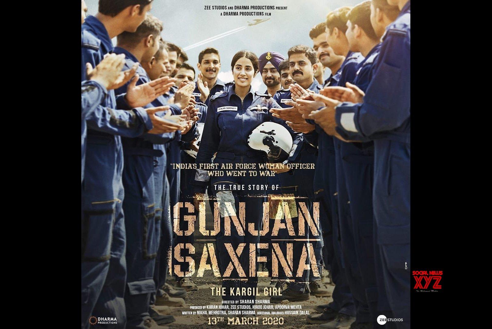 Gunjan Saxena Review Set Piece Biopic Manages To Regale Rating Social News Xyz