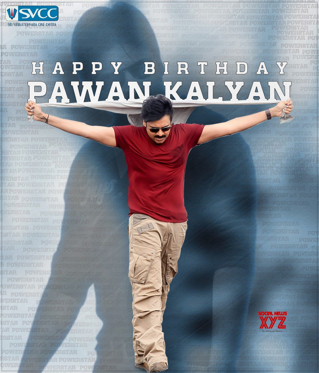 Janasenani Pawan Kalyan Birthday Wishes Posters From Sri Venkateswara Creations And Svcc Social News Xyz He began to call himself as pawan kalyan when he worked on his first film, akkada abbai ikkada ammayi, in 1996. janasenani pawan kalyan birthday wishes