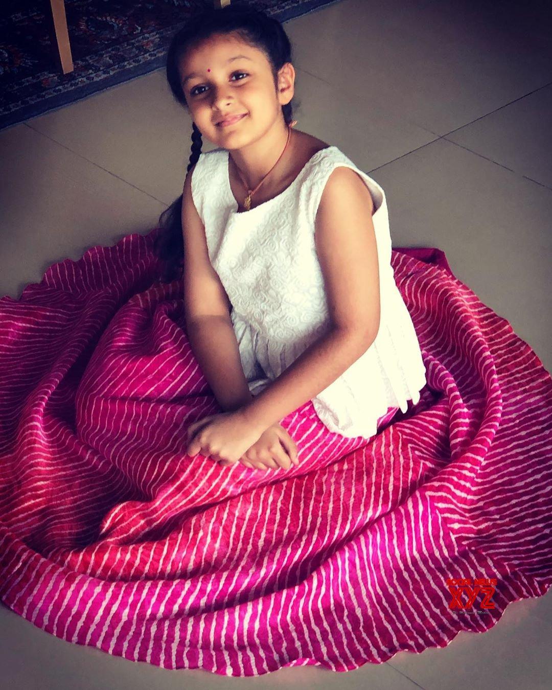 Mahesh Babu's Daughter Sitara Stills From Ganesh Chaturthi