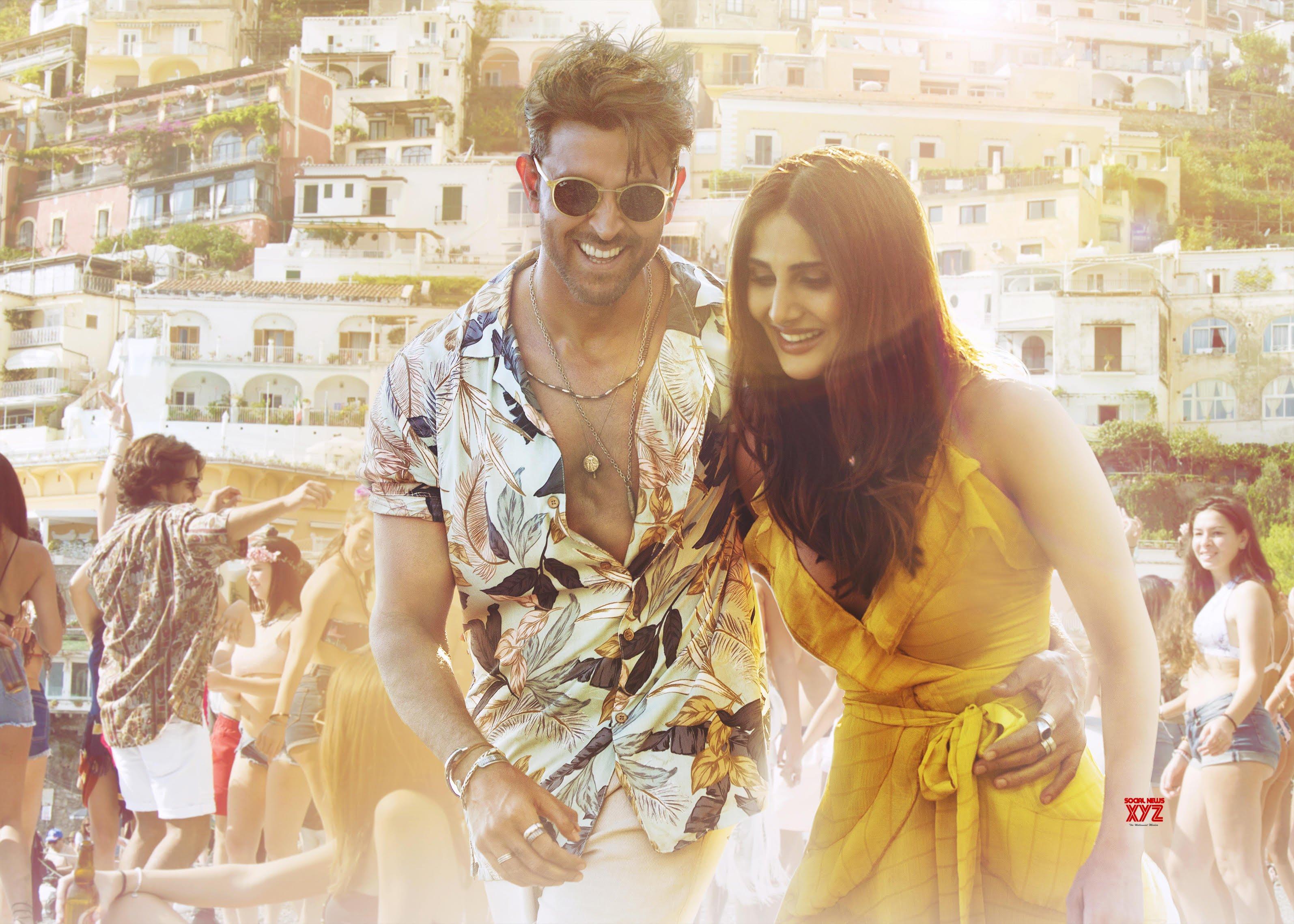 Hrithik Roshan And Vaani Kapoor Burn Up The Dance Floor In