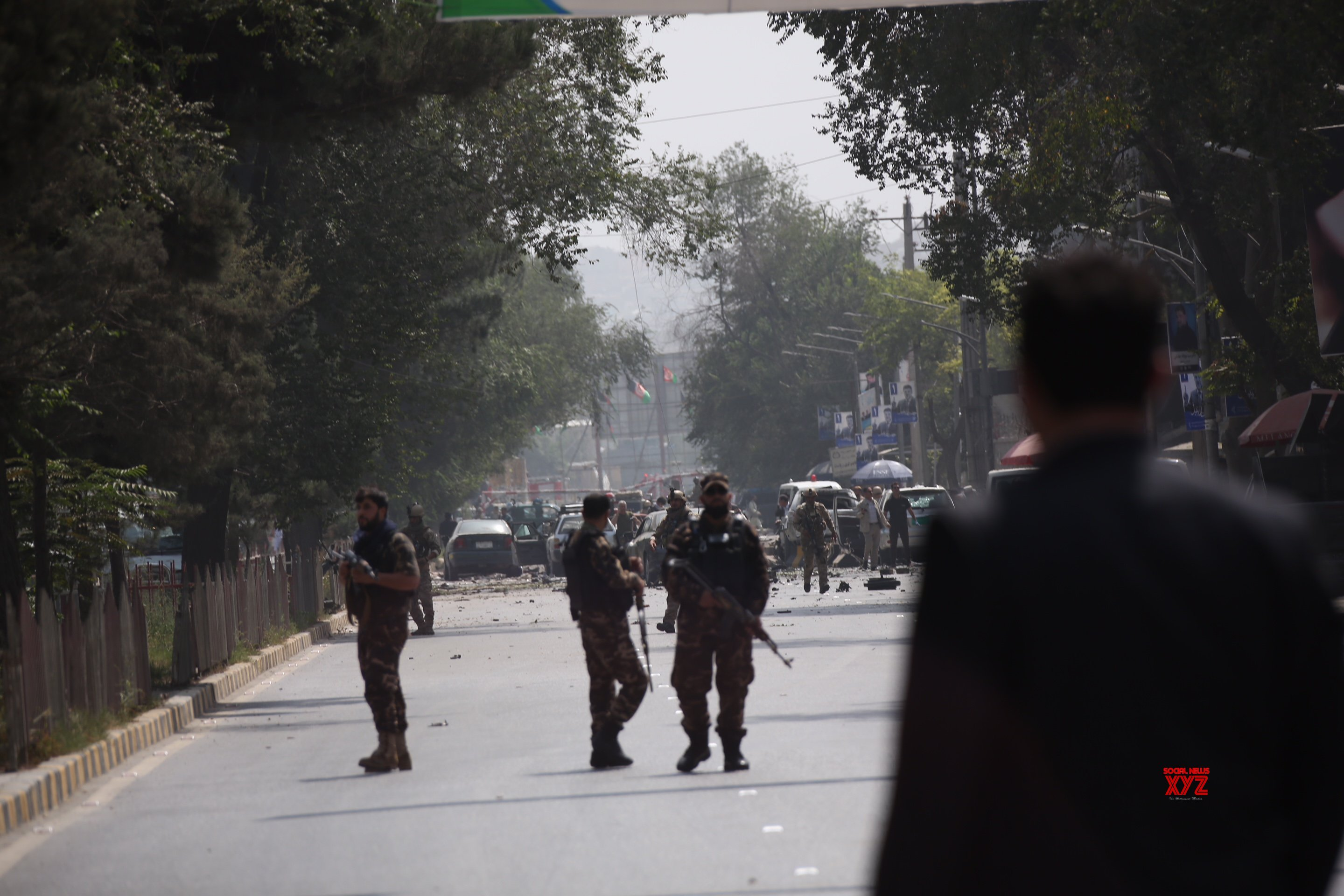 5 killed after 14 rockets hit Kabul