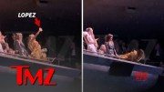 Jennifer Lopez Nearly Falling From Balcony at Toronto International Film Festival  [HD] (Video)