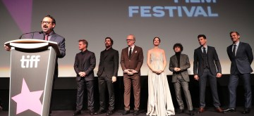James Mangold, Director/Producer, Matt Damon, Christian Bale, Tracy Letts, Caitriona Balfe, Noah Jupe, Jon Bernthal, Josh Lucas