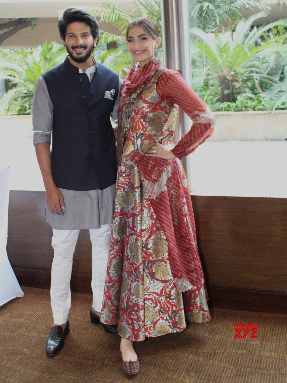 "New Delhi: ""The Zoya Factor"" press conference - Sonam Kapoor, Dulquer Salmaan #Gallery"