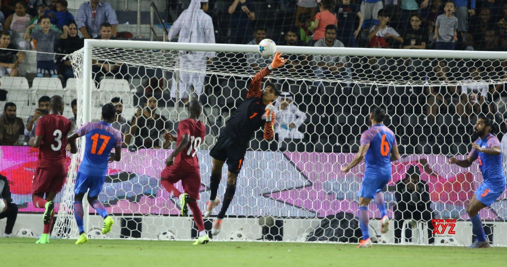 Doha (Qatar): FIFA World Cup Qatar 2022 qualifiers - India Vs Qatar #Gallery