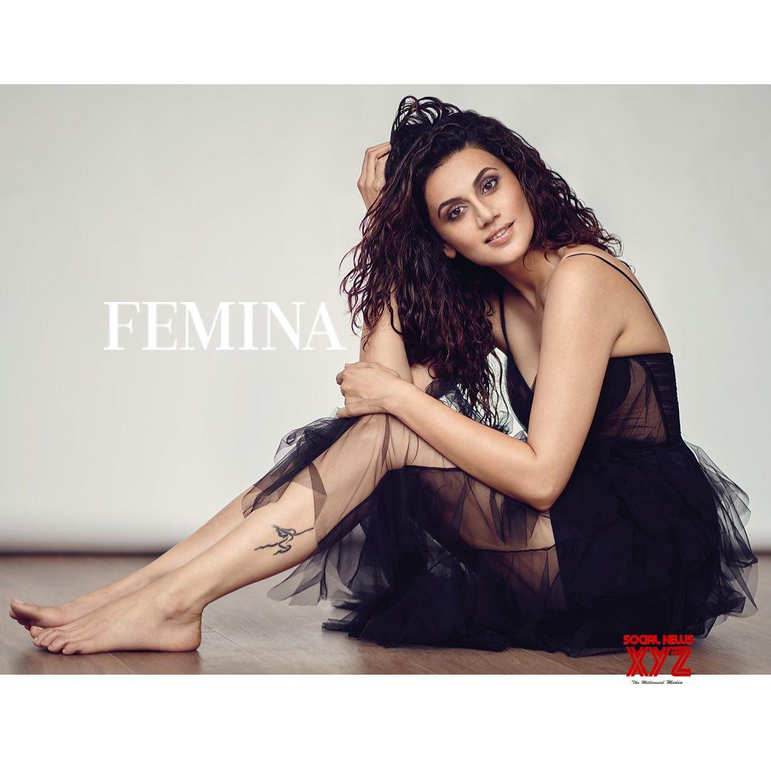 Actress Taapsee Pannu Hot Still From Femina Magazine Photoshoot