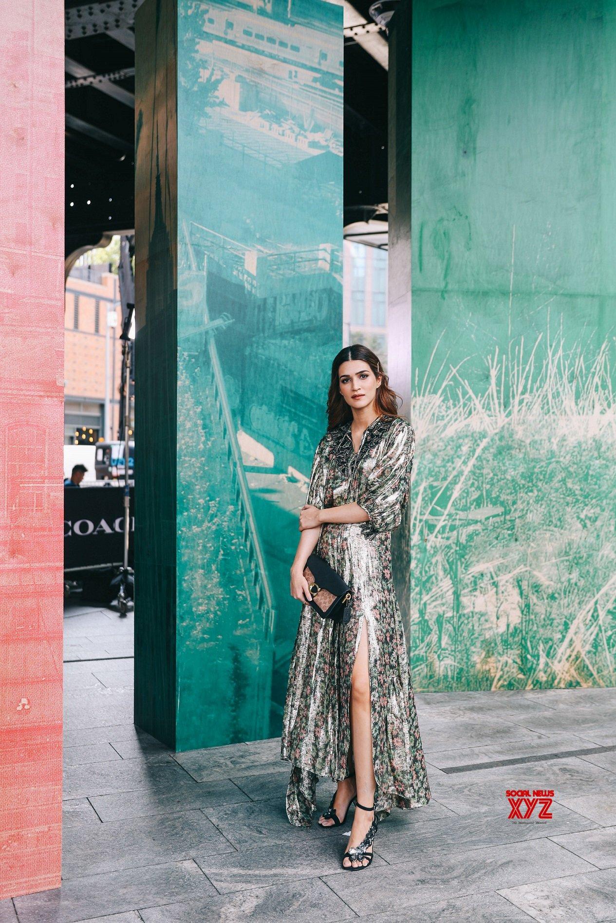 Kriti Sanon At The COACH Spring Summer 2020 Fashion Show At NYFW