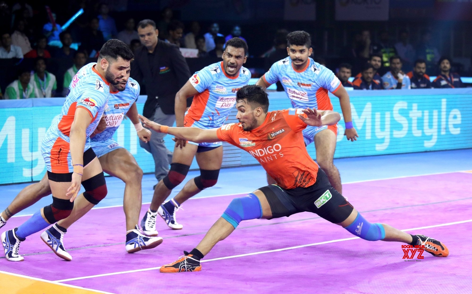 PKL 7: Warriors pip U Mumba in closely-fought contest