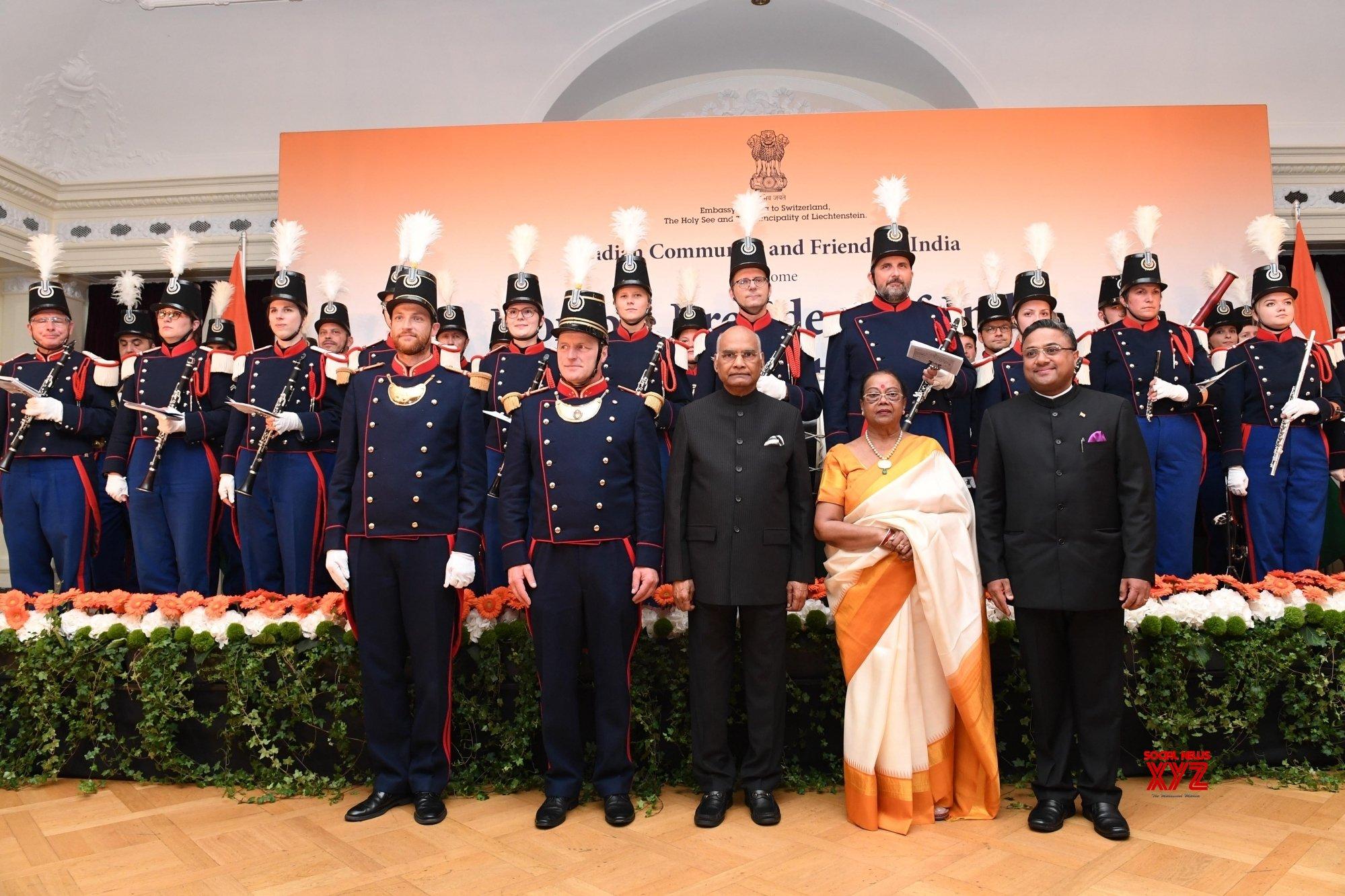 Bern: President Kovind at Indian Community Reception in Switzerland #Gallery