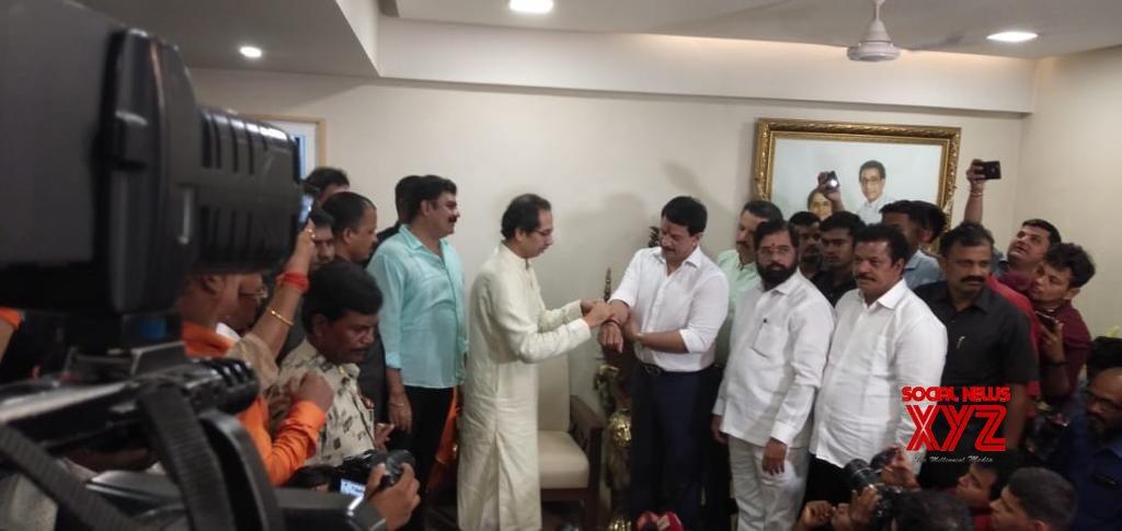 Mumbai: Ex - encounter cop Pradeep Sharma joins Shiv Sena #Gallery