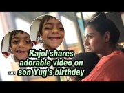 Kajol shares adorable video on son Yug's birthday [HD] (Video)