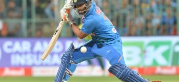 Bengaluru: India's Rishabh Pant in action during the 3rd T20I match between India and South Africa at M. Chinnaswamy Stadium in Bengaluru on Sep 22, 2019. (Photo: IANS)