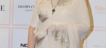 Mumbai: Actress Sharmila Tagore at 10th Vogue Beauty Awards in Mumbai on Sep 25, 2019. (Photo: IANS)