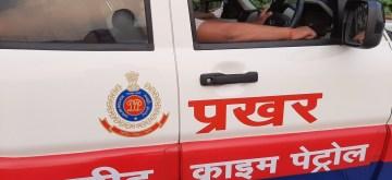 New Delhi: 'Prakhar' street crime patrol van launched by Delhi Police, on Sep 30, 2019. (Photo: IANS)