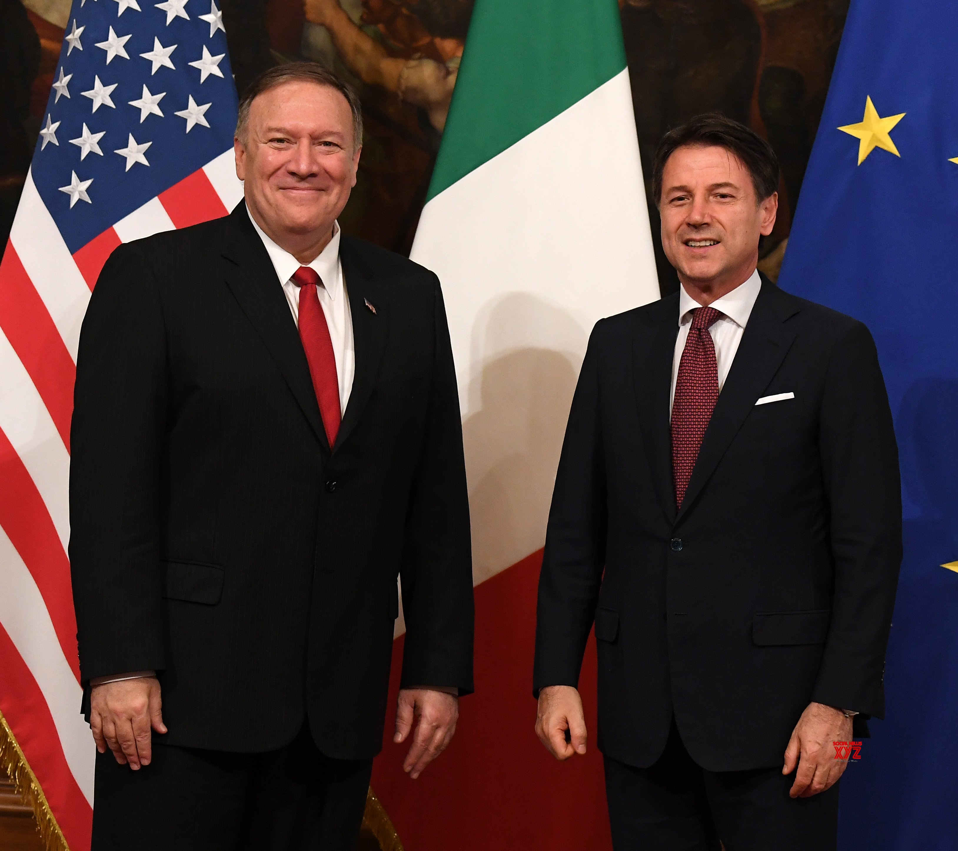 ITALY - ROME - U.S. - MIKE POMPEO - CONTE - MEETING #Gallery ...
