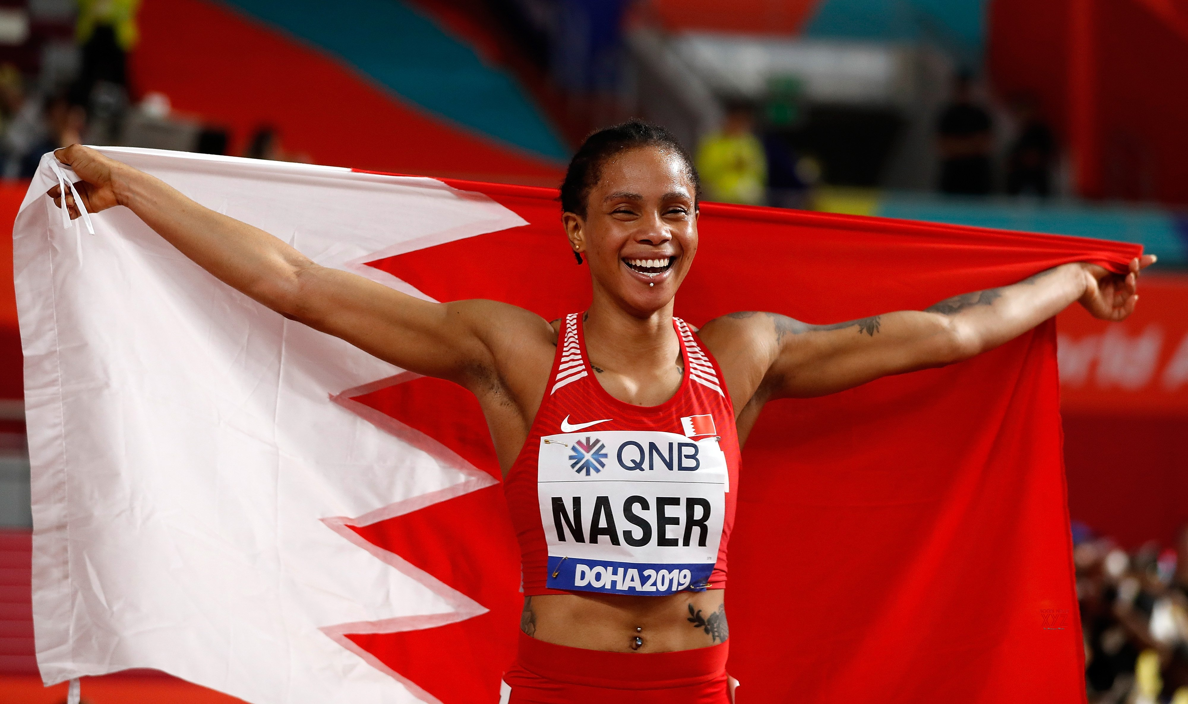 Doha Worlds: Bahrain's Naser is 1st Asian to win 400m gold